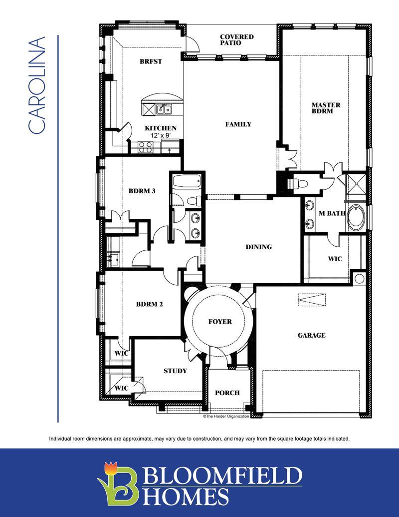 Carolina Floor Plan