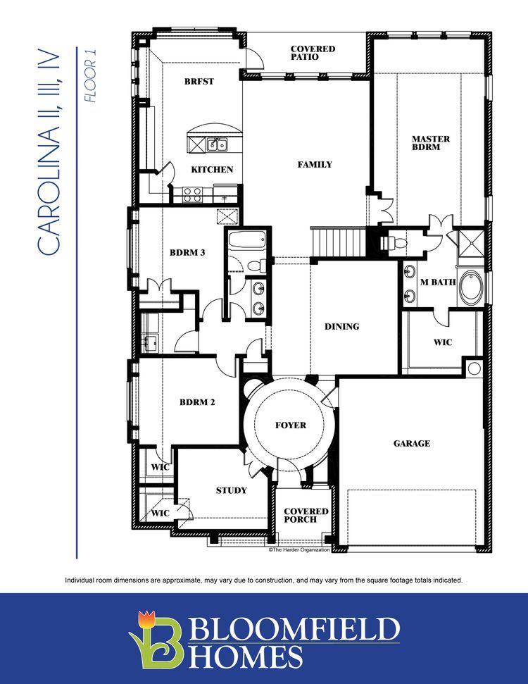 Carolina III First Floor