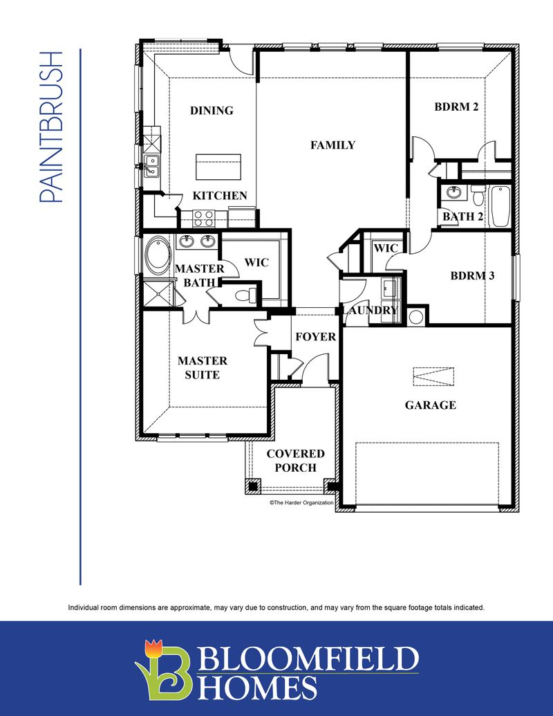 Paintbrush Floor Plan