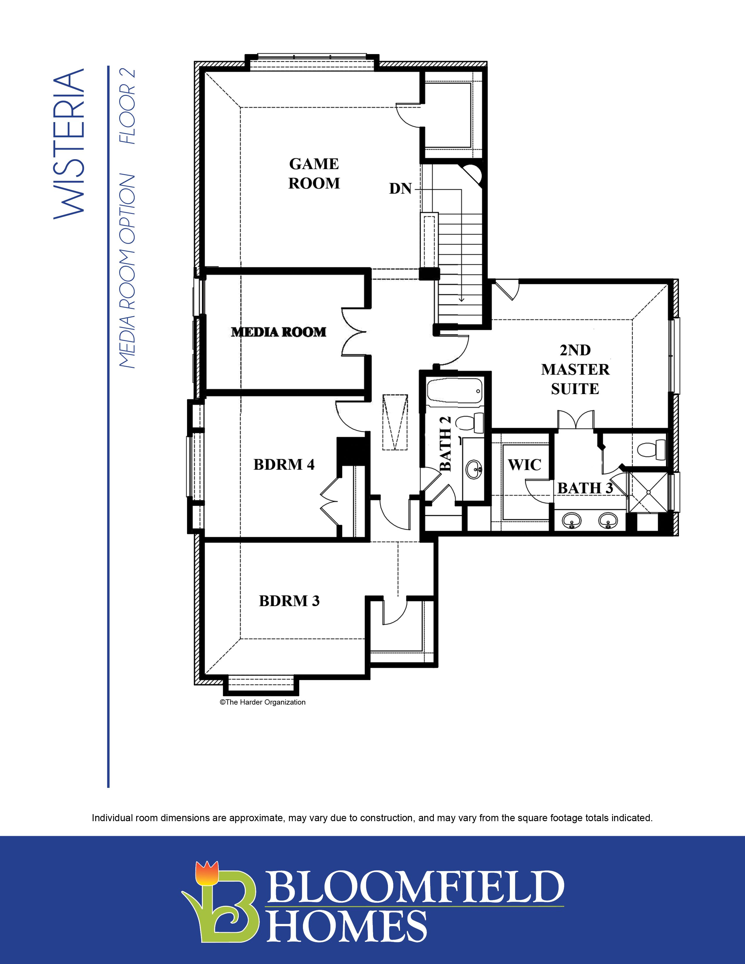 Wisteria Plan Forney Texas 75126 Wisteria Plan at Devonshire by – Bloomfield Homes Floor Plans