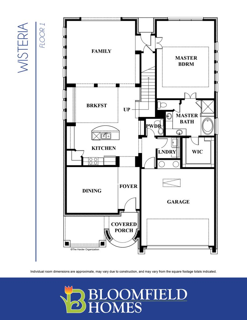 Wisteria Home Plan by Bloomfield Homes in All Bloomfield Plans