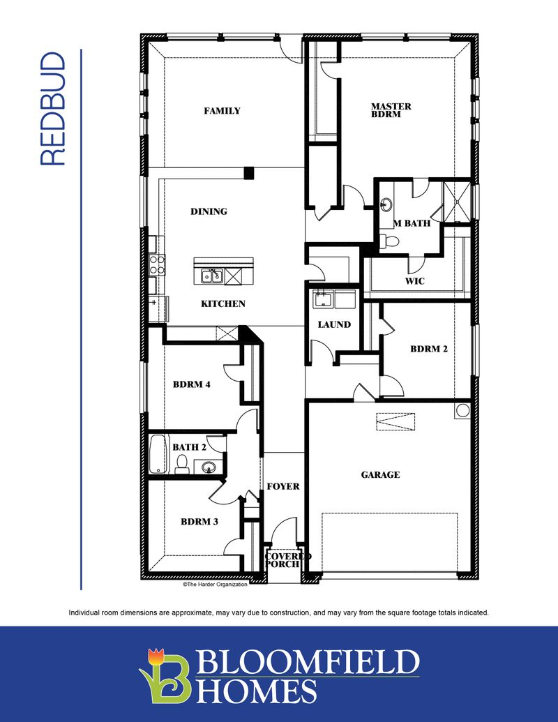 Redbud Floor Plan