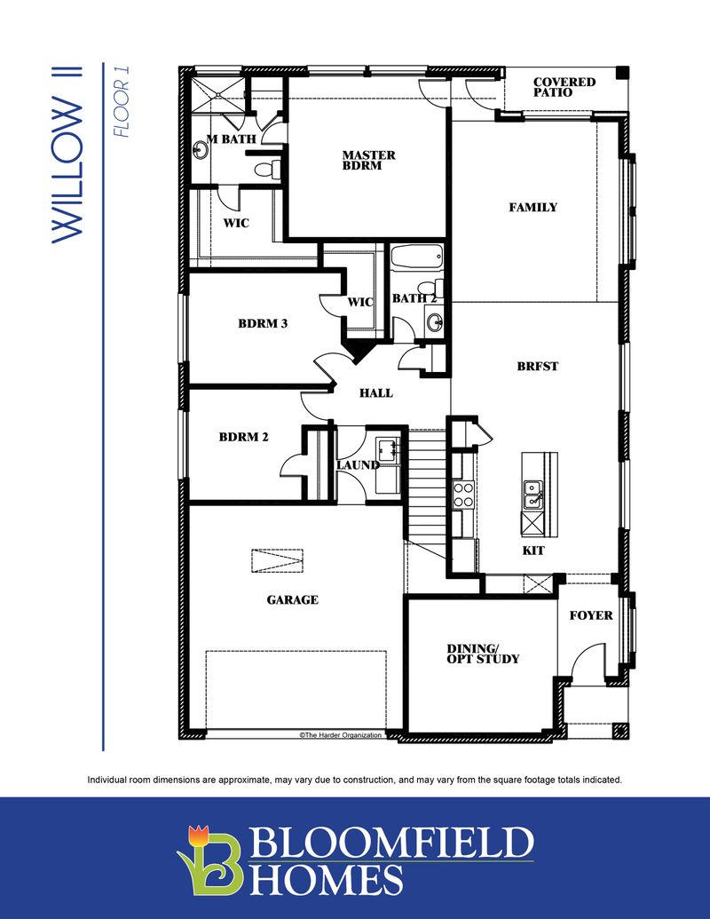 Willow II Floor One
