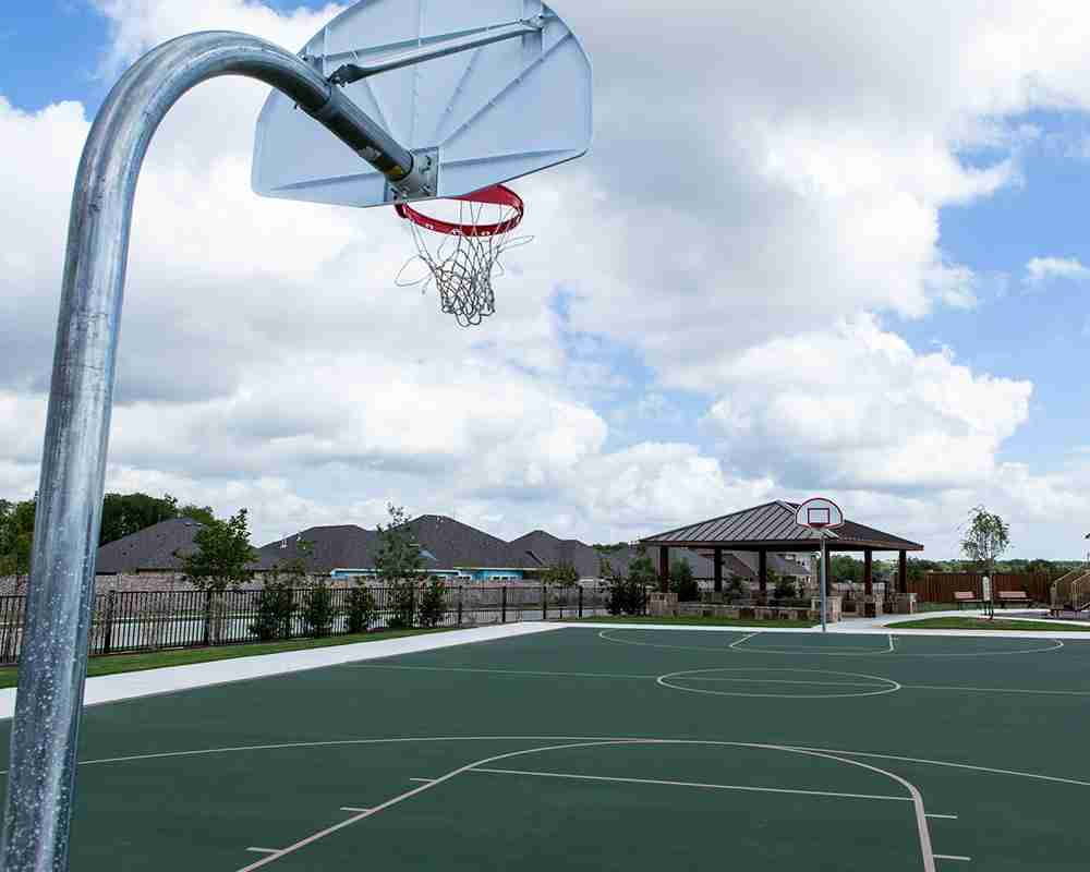 Willow Wood Basketball Court