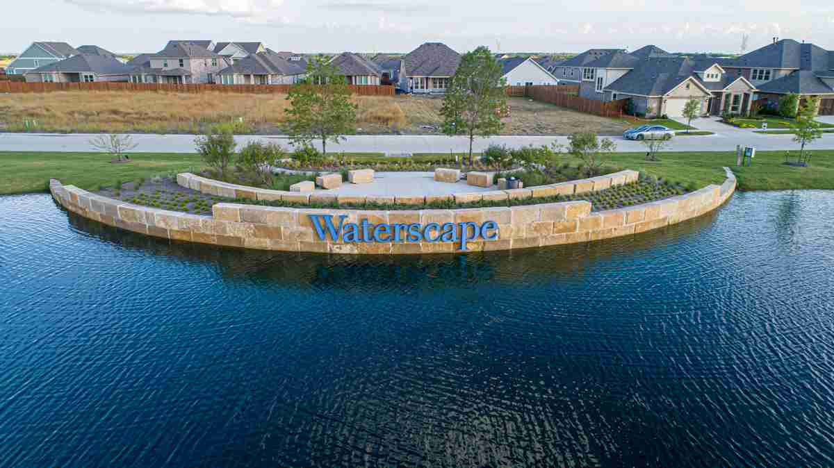 Waterscape Sign