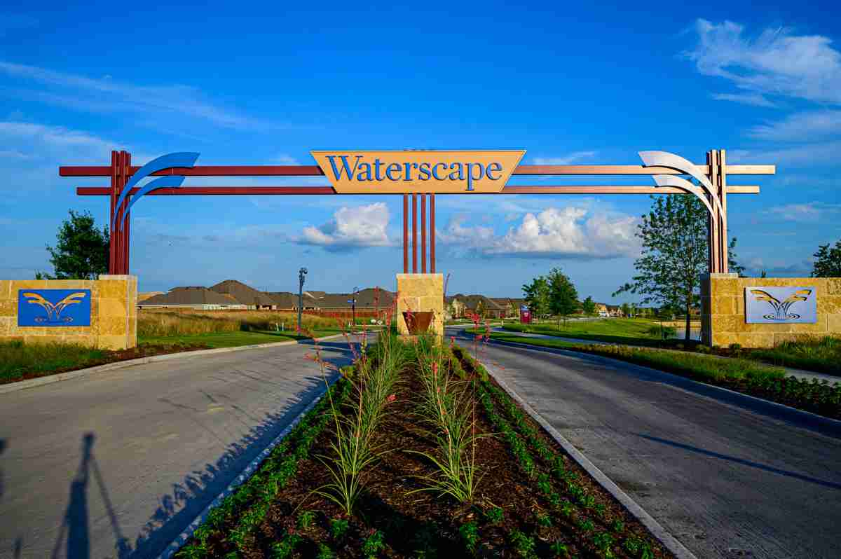 Waterscape Community Sign