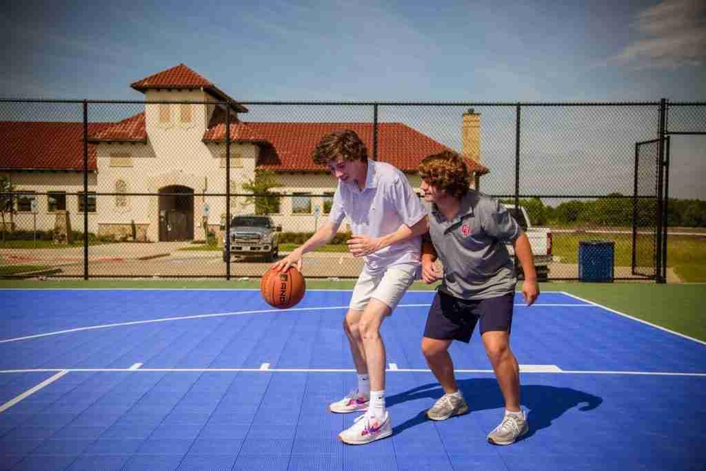 Sonoma Verde Basketball Court