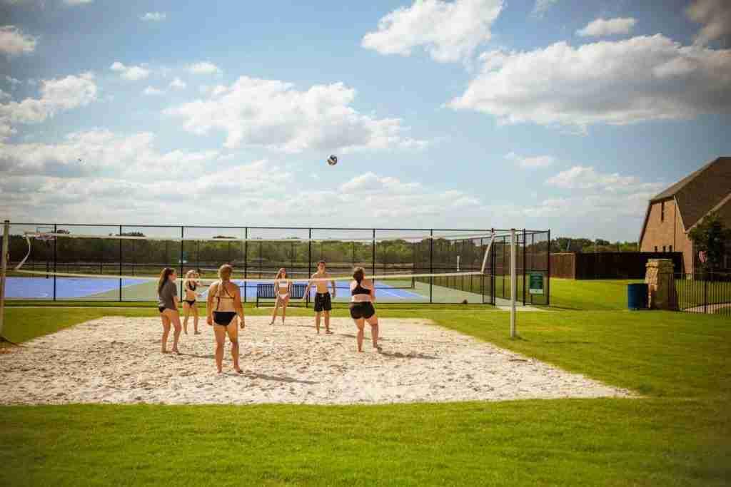 Sonoma Verde Volleyball Court