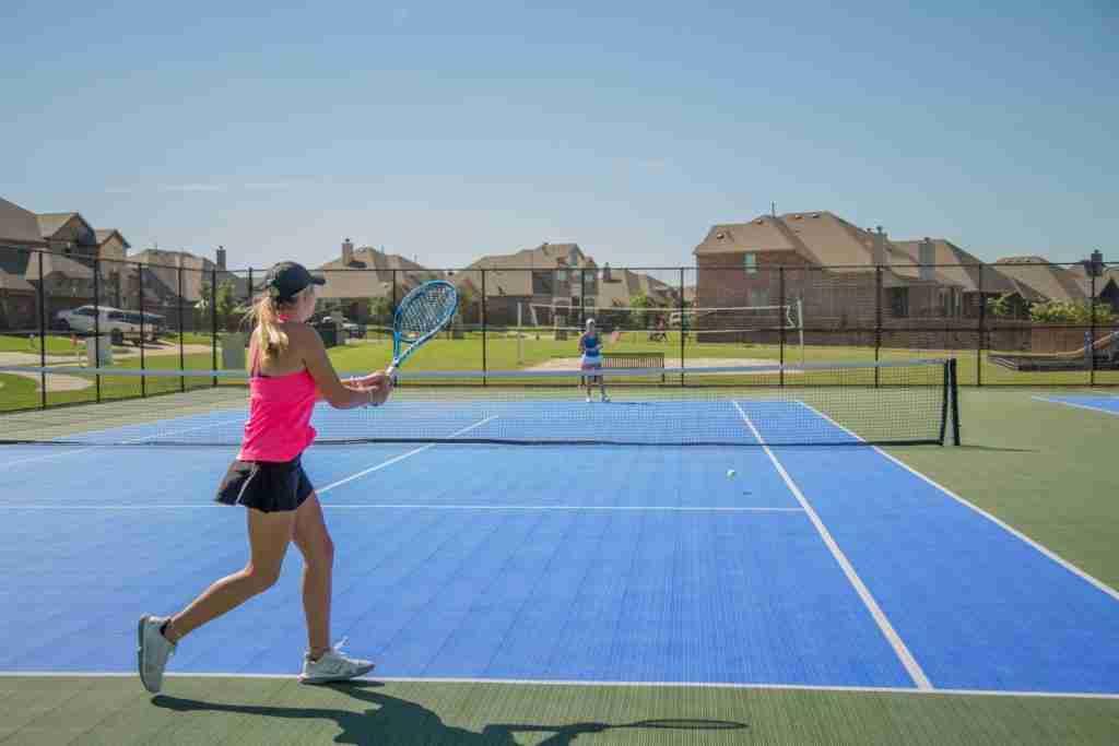 Sonoma Verde Tennis Court