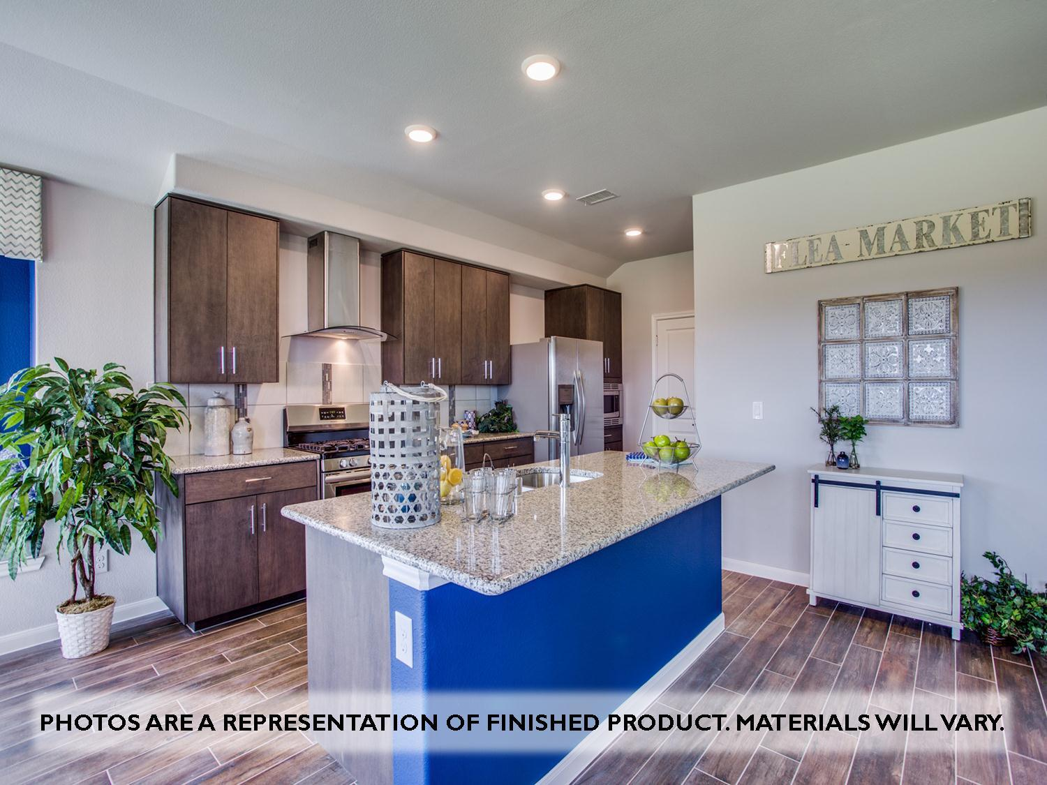 Kitchen featured in the Camellia By Bloomfield Homes in Dallas, TX