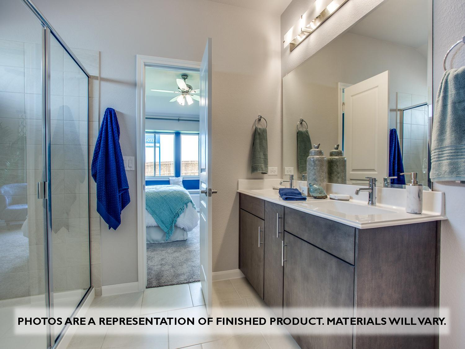 Bathroom featured in the Camellia By Bloomfield Homes in Dallas, TX