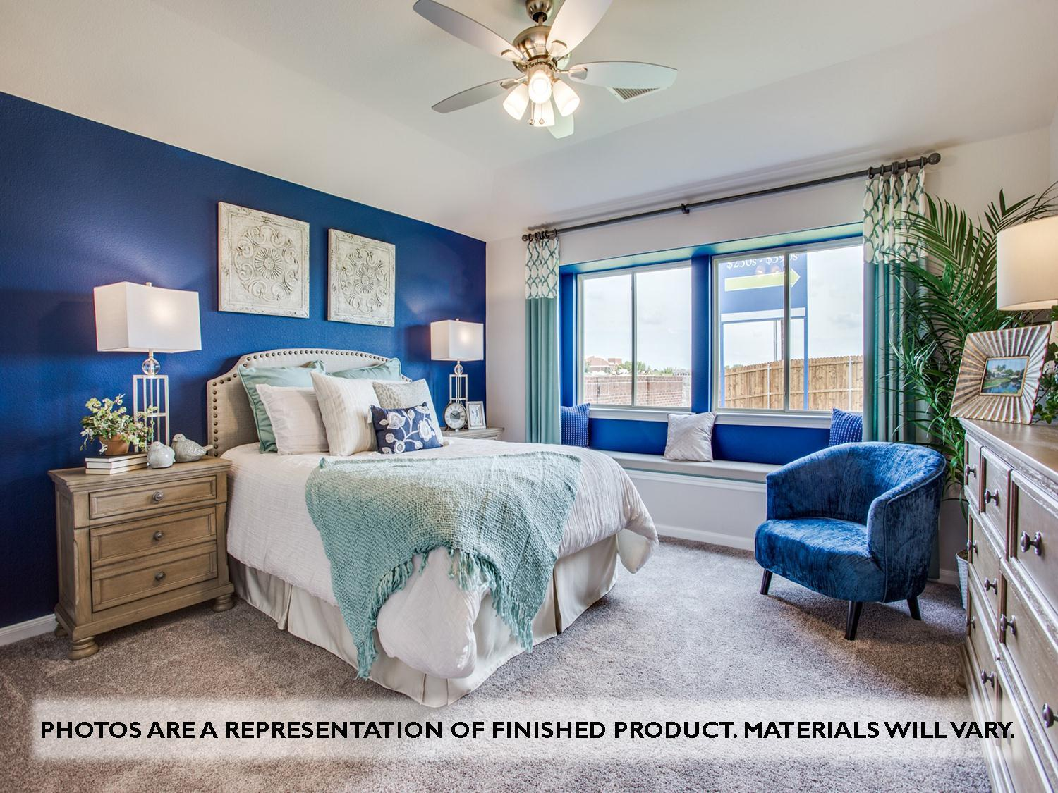 Bedroom featured in the Camellia By Bloomfield Homes in Dallas, TX