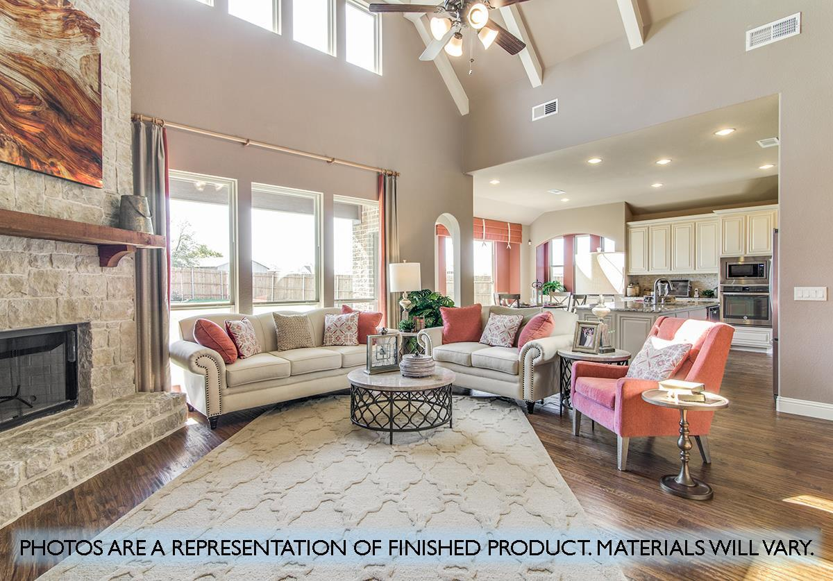Living Area featured in the Primrose By Bloomfield Homes in Dallas, TX