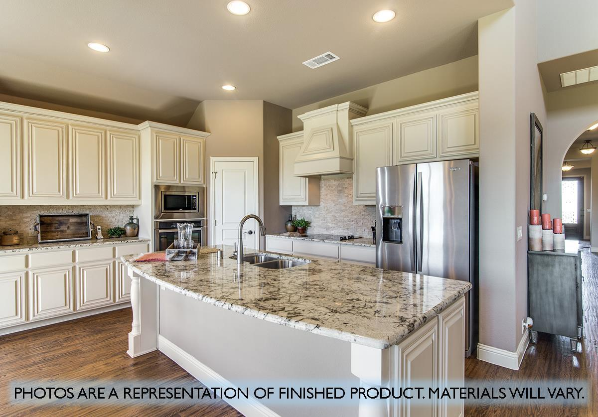 Kitchen featured in the Primrose FE IV  By Bloomfield Homes in Dallas, TX