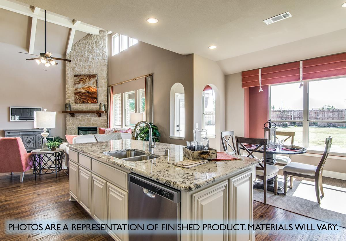 Living Area featured in the Primrose FE IV  By Bloomfield Homes in Dallas, TX