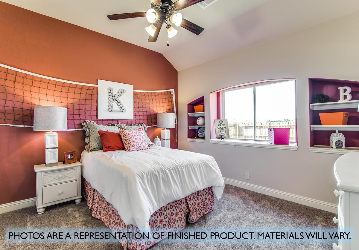 Bedroom featured in the Primrose FE IV  By Bloomfield Homes in Dallas, TX