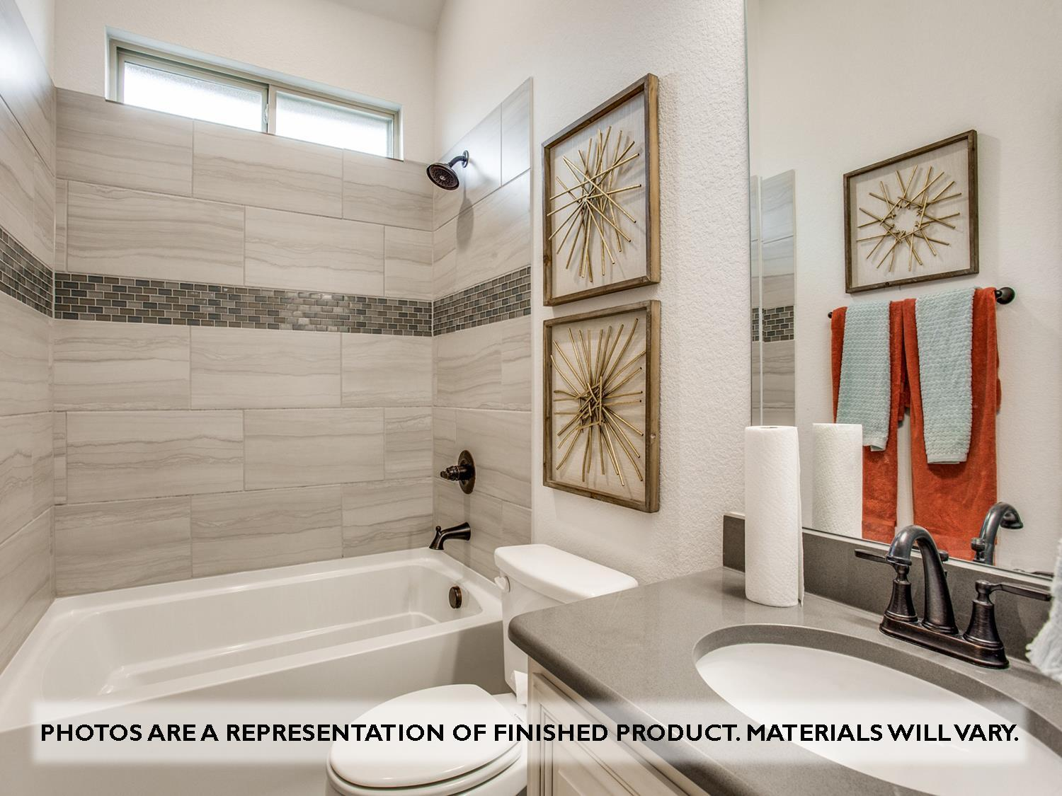 Bathroom featured in the Primrose FE VI By Bloomfield Homes in Fort Worth, TX