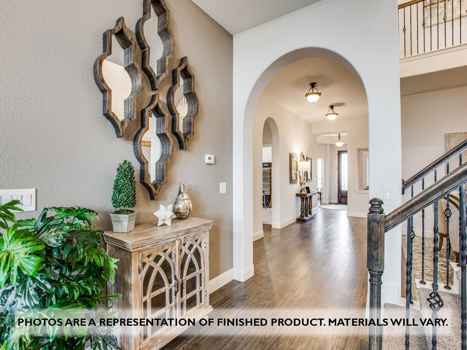 Living Area featured in the Primrose FE VI By Bloomfield Homes in Fort Worth, TX