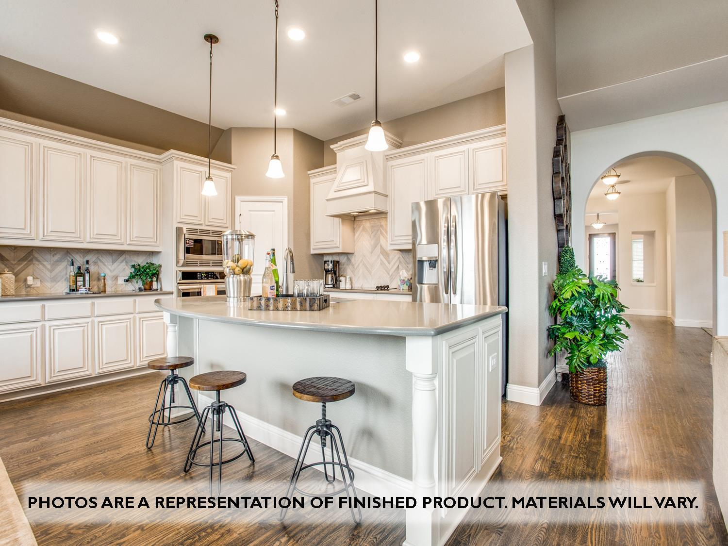 Kitchen featured in the Primrose FE VI By Bloomfield Homes in Fort Worth, TX