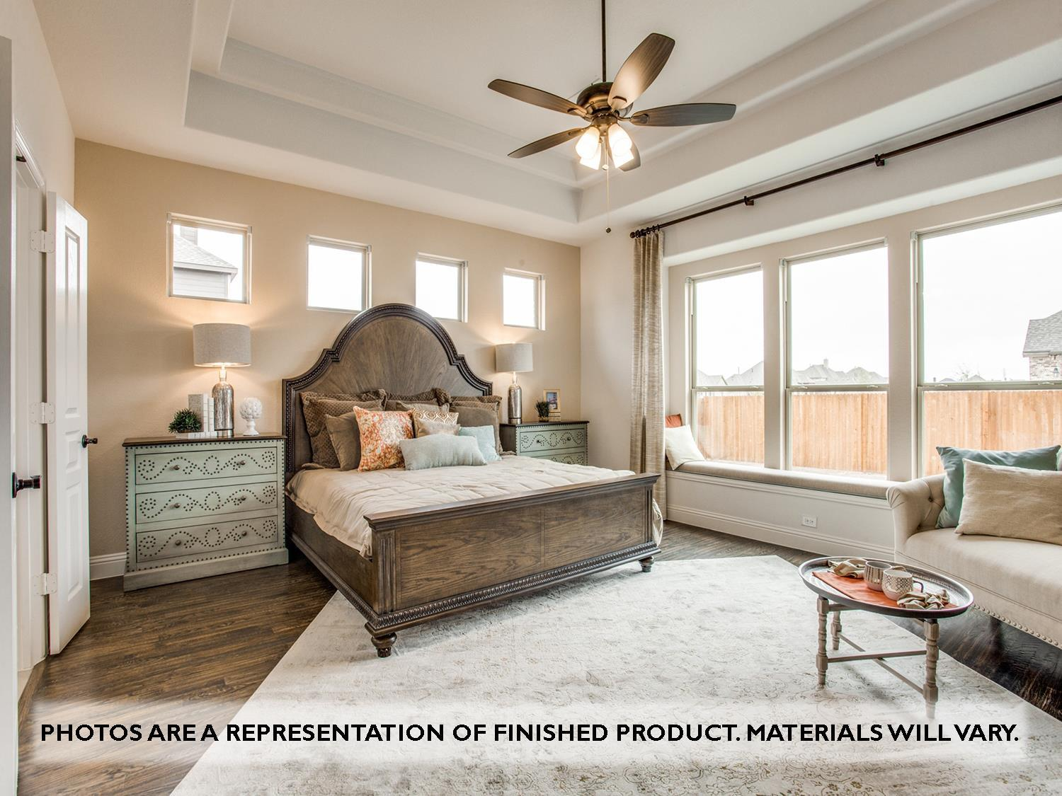 Bedroom featured in the Primrose FE VI By Bloomfield Homes in Dallas, TX