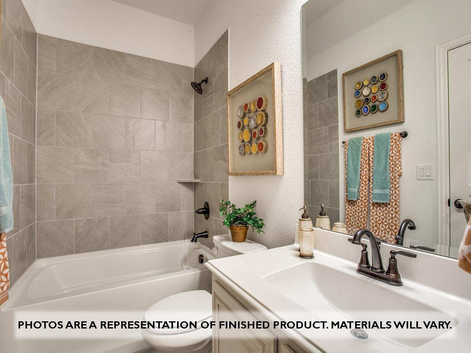 Bathroom featured in the Primrose II By Bloomfield Homes in Dallas, TX