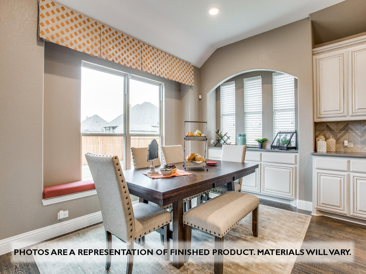 Living Area featured in the Primrose II By Bloomfield Homes in Dallas, TX