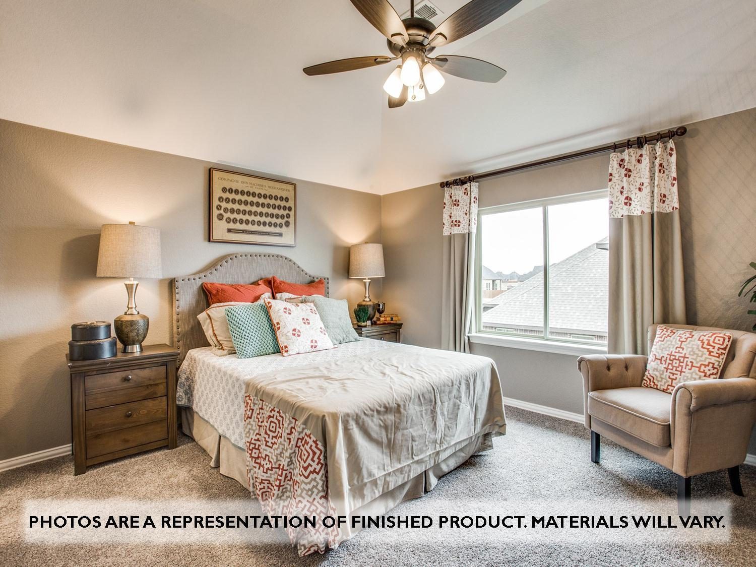 Bedroom featured in the Primrose II By Bloomfield Homes in Dallas, TX