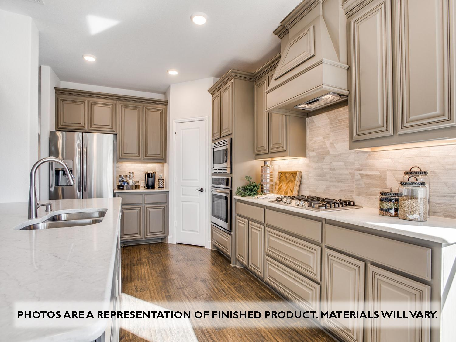 Kitchen featured in the Magnolia II Side Entry By Bloomfield Homes in Dallas, TX