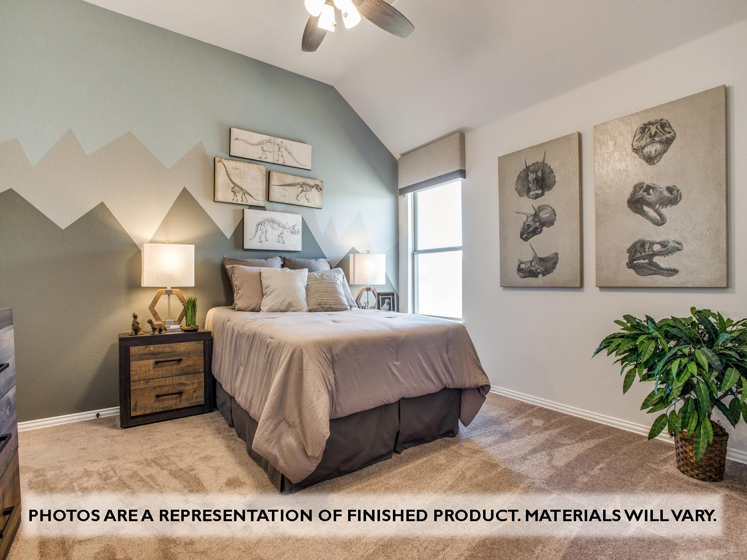 Bedroom featured in the Magnolia II Side Entry By Bloomfield Homes in Dallas, TX
