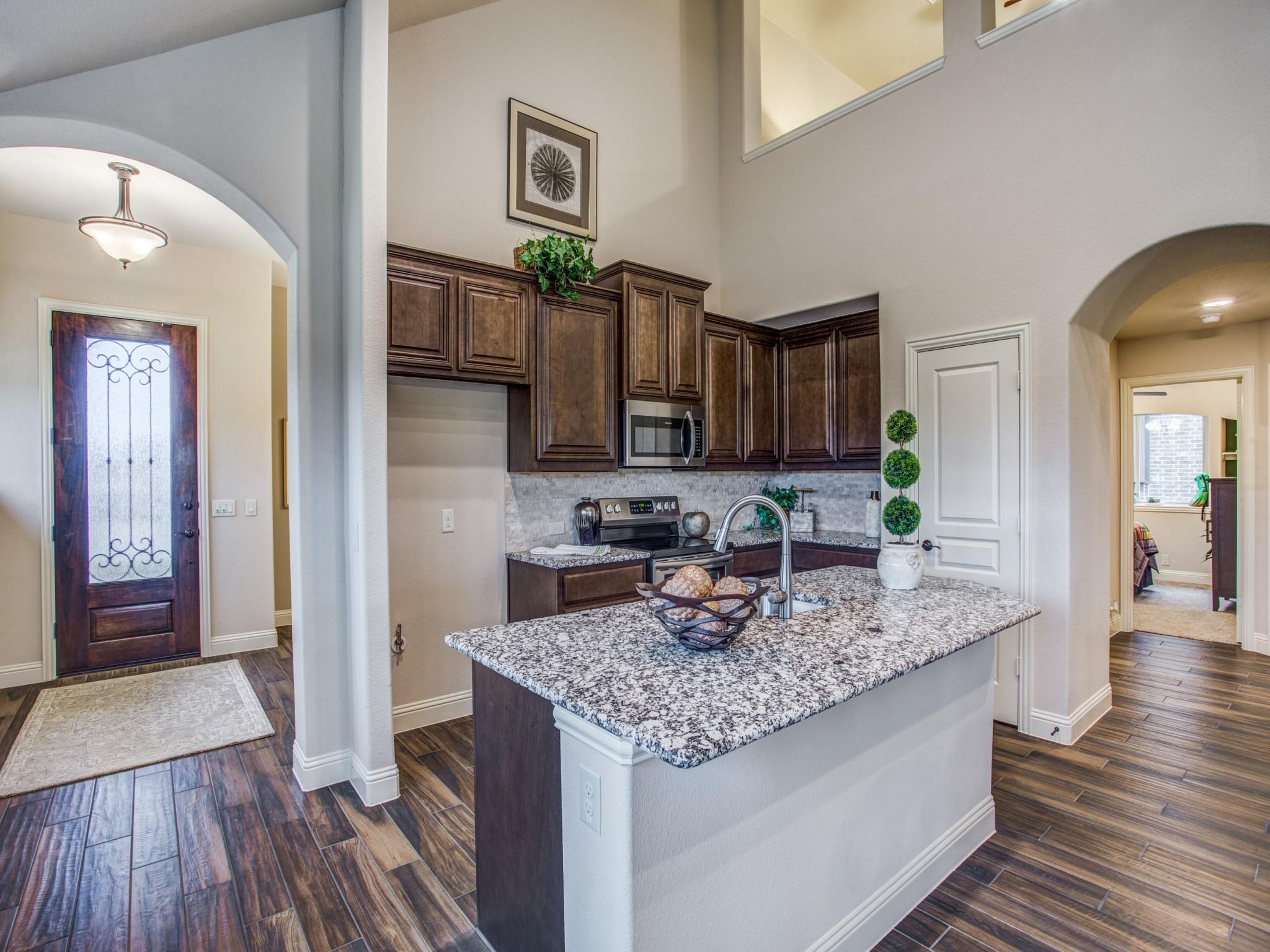 Kitchen featured in the Dogwood III By Bloomfield Homes in Dallas, TX