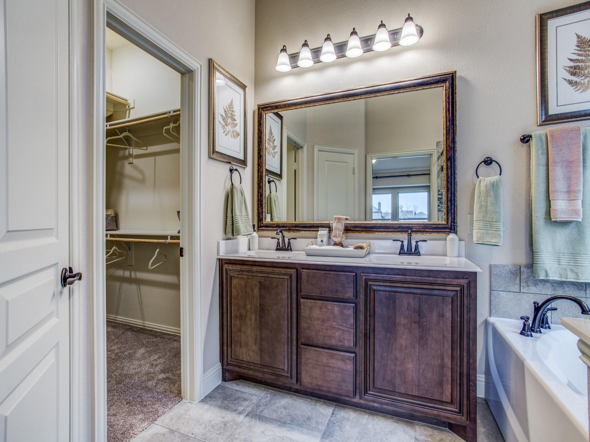 Bathroom featured in the Dogwood III By Bloomfield Homes in Dallas, TX