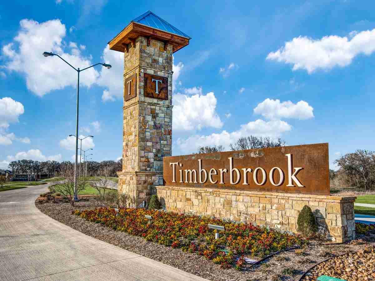 Timberbrook Sign