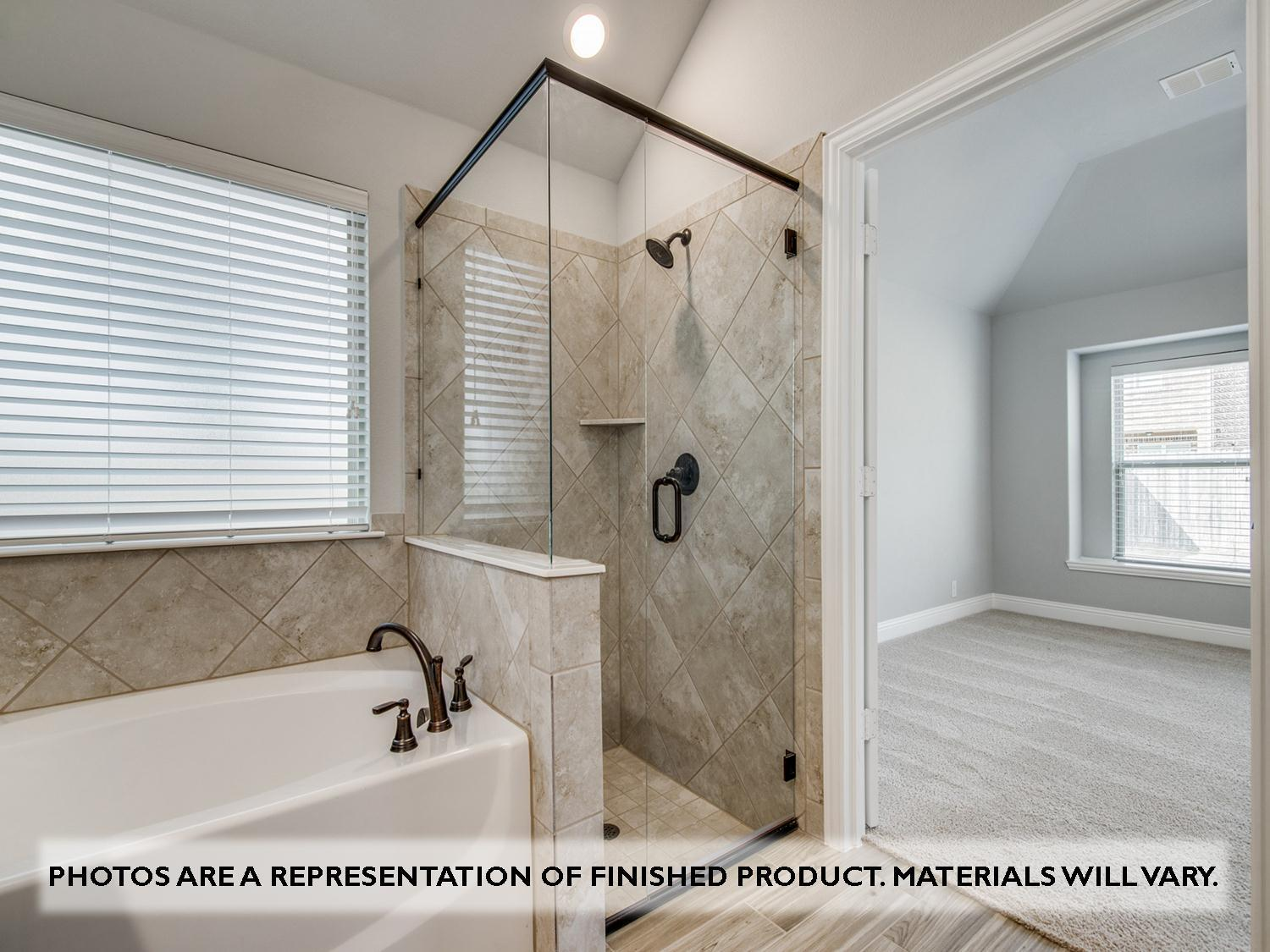 Bathroom featured in the Bluebonnet By Bloomfield Homes in Dallas, TX