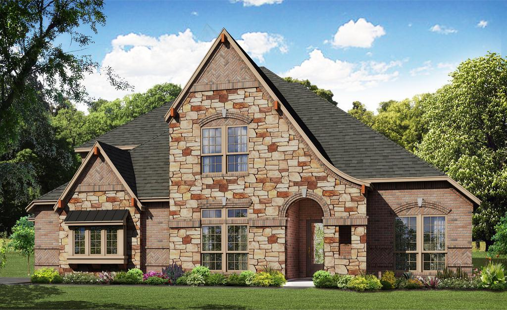 Exterior featured in the Lilac By Bloomfield Homes in Dallas, TX