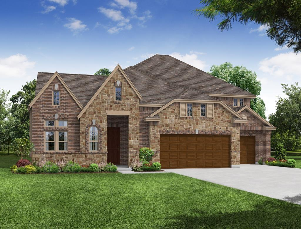 Exterior featured in the Primrose FE VI By Bloomfield Homes in Fort Worth, TX