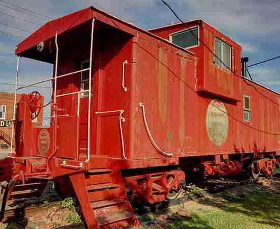 Forney Train Car