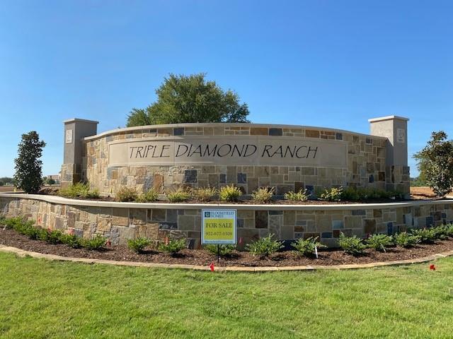 Triple Diamond Ranch Sign