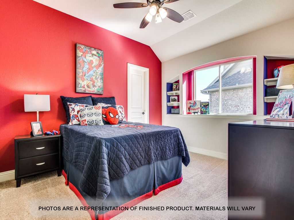 Bedroom featured in the Carolina By Bloomfield Homes in Dallas, TX
