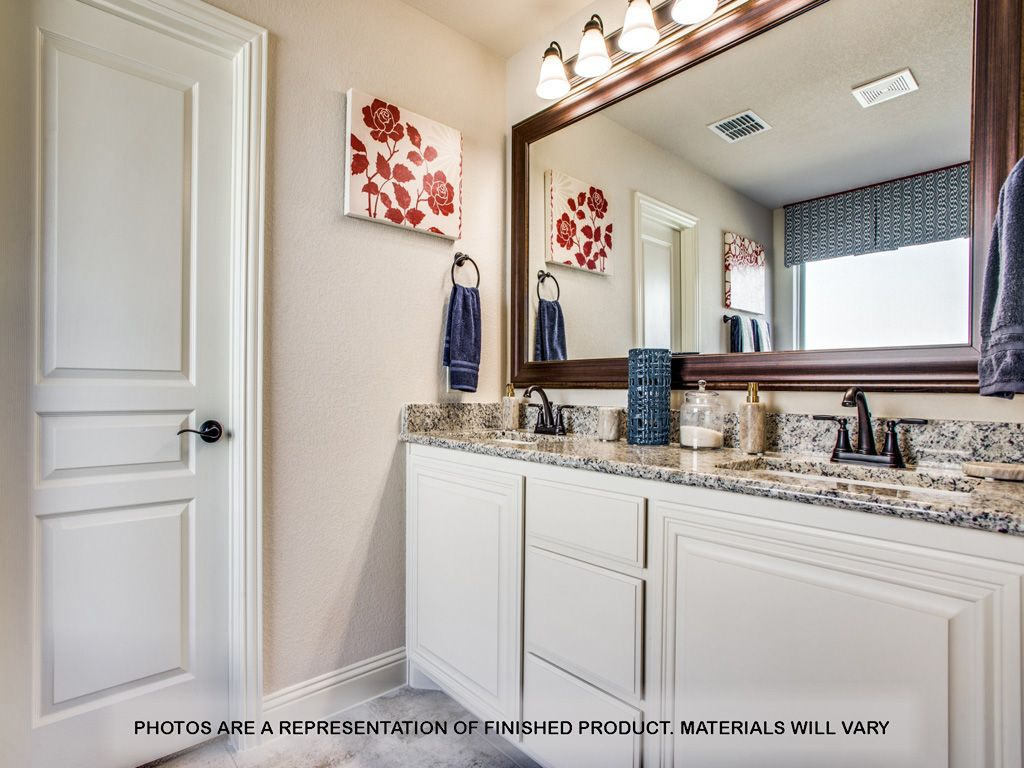 Bathroom featured in the Carolina By Bloomfield Homes in Dallas, TX