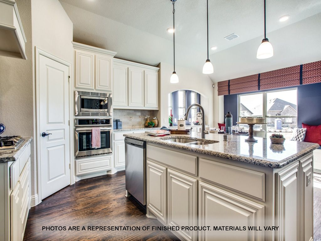 Kitchen featured in the Carolina By Bloomfield Homes in Dallas, TX