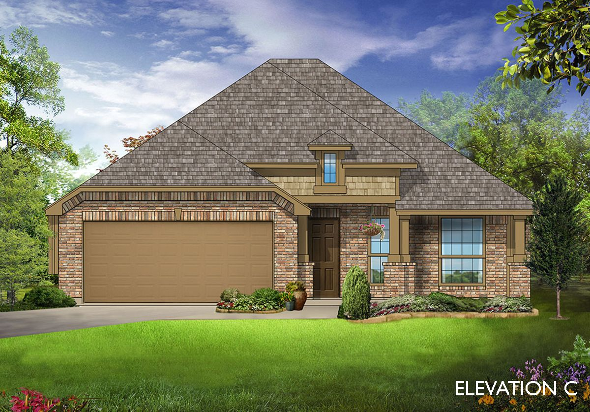 Exterior featured in the Bluebonnet By Bloomfield Homes in Dallas, TX