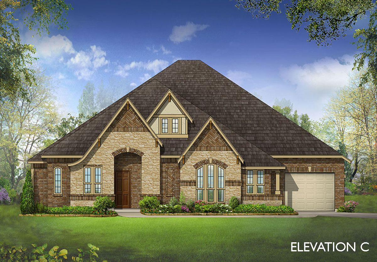 Exterior featured in the Primrose By Bloomfield Homes in Dallas, TX