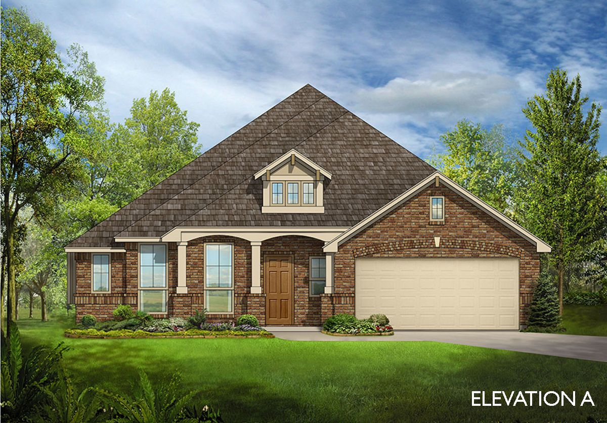 Exterior featured in the Carolina By Bloomfield Homes in Dallas, TX