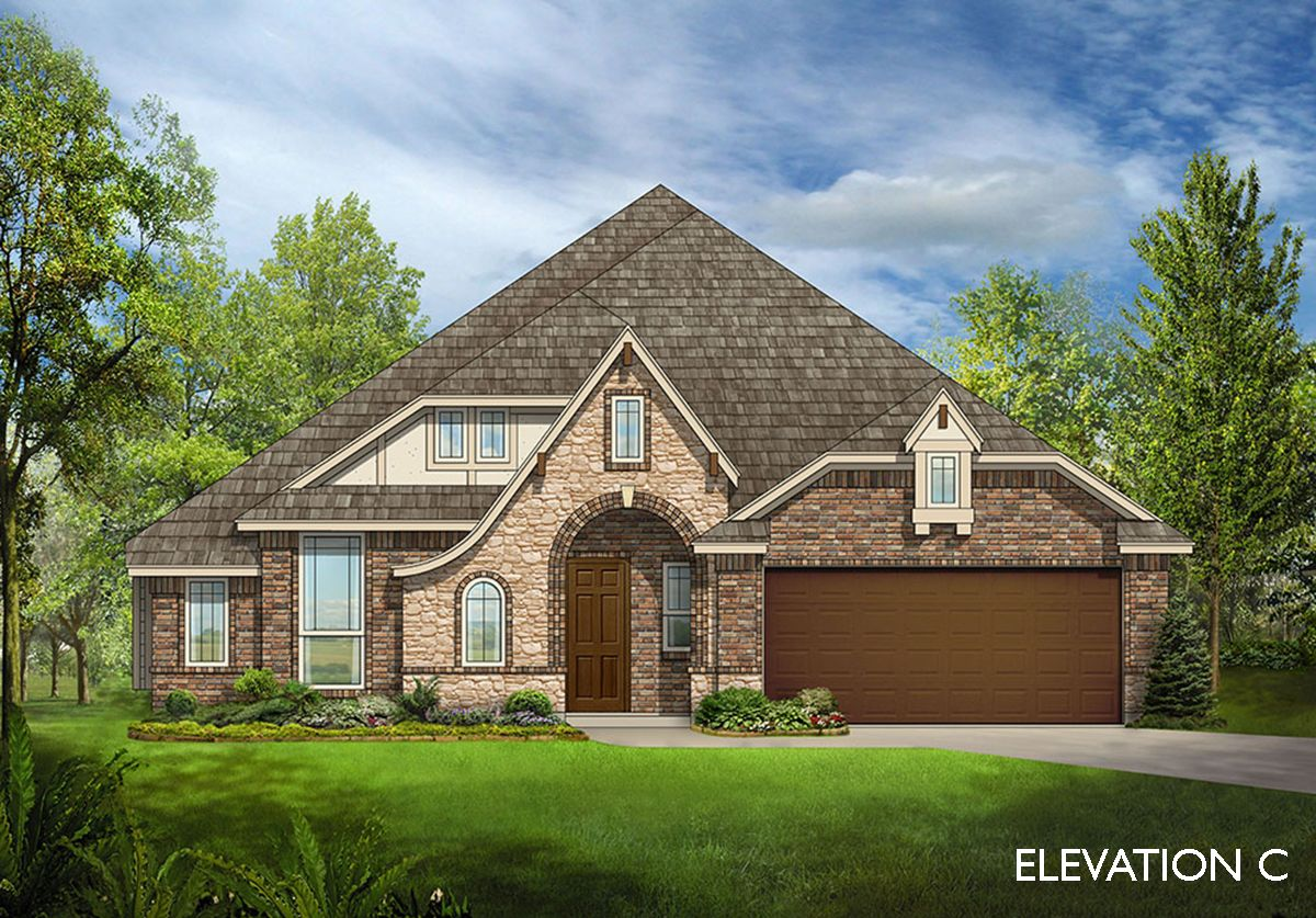 Exterior featured in the Carolina II By Bloomfield Homes in Dallas, TX