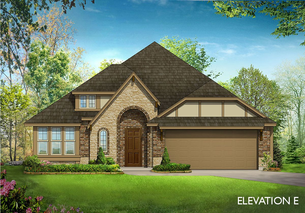 Exterior featured in the Cypress By Bloomfield Homes in Dallas, TX