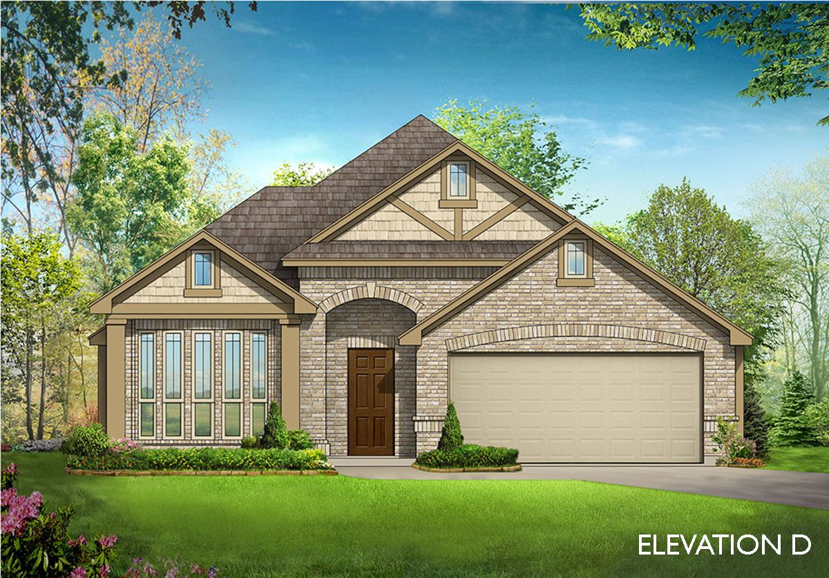 Exterior featured in the Cypress II By Bloomfield Homes in Fort Worth, TX