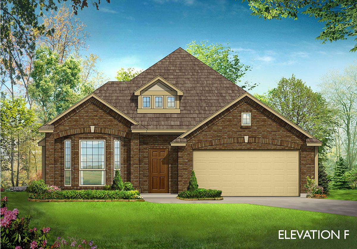 Exterior featured in the Cypress II By Bloomfield Homes in Dallas, TX