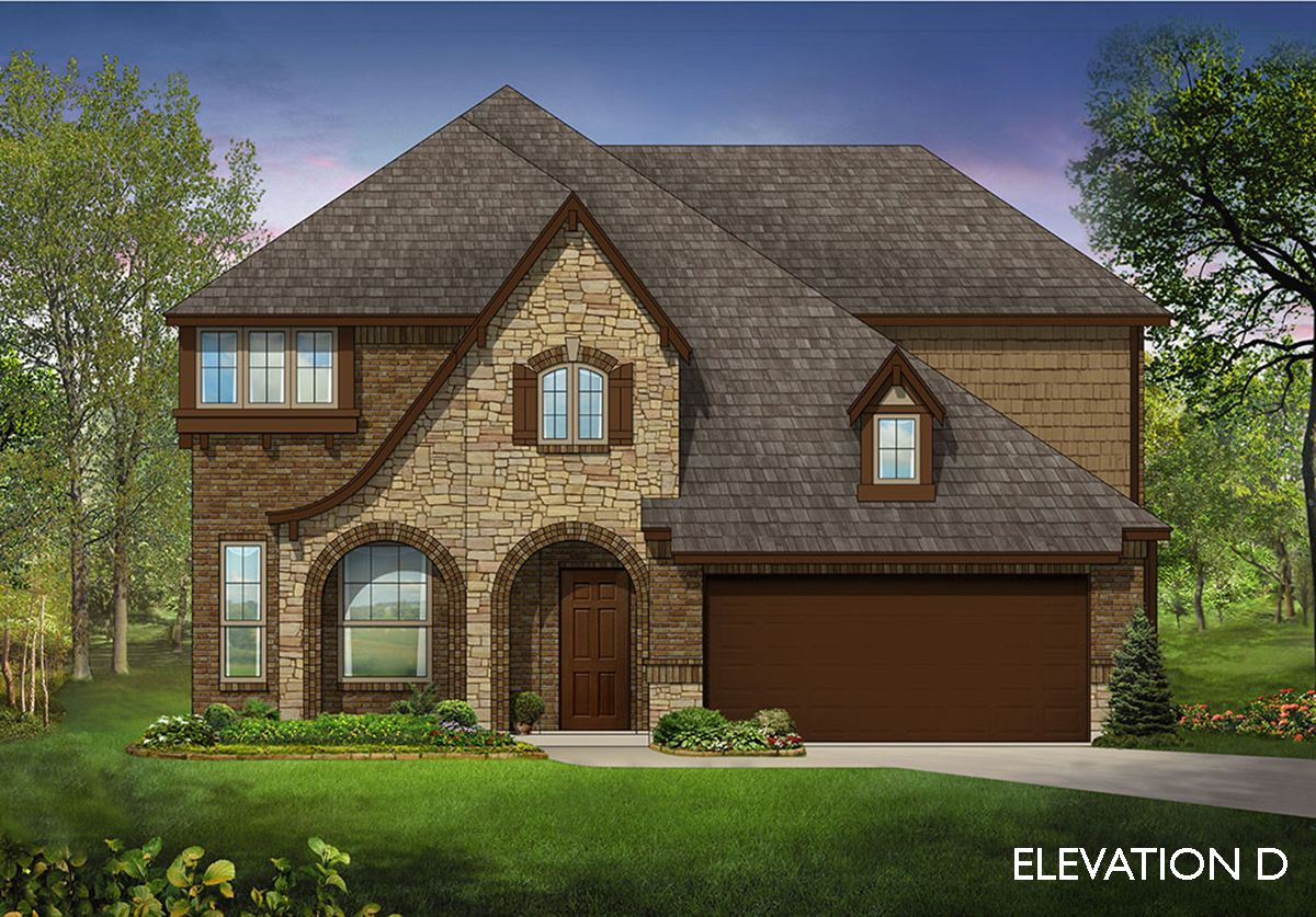 Exterior featured in the Dewberry By Bloomfield Homes in Dallas, TX