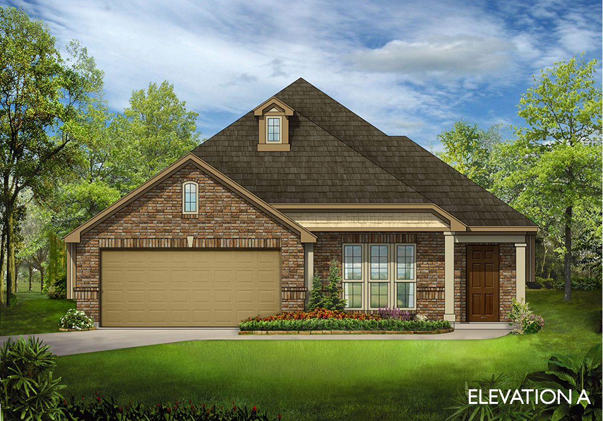 Exterior featured in the Dogwood By Bloomfield Homes in Dallas, TX