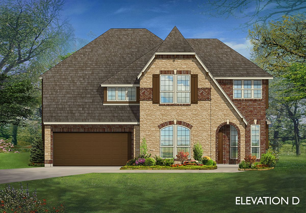 Exterior featured in the Magnolia By Bloomfield Homes in Dallas, TX